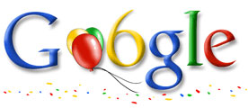 Google 6th Birthday