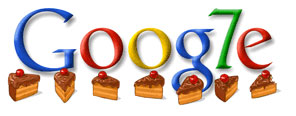 Google 7th Birthday